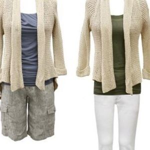 Cabi #287 Teachers Pet Crochet Cardigan, size S